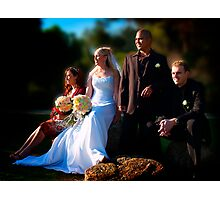 Bridal Party Photographic Print