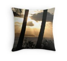 Hamilton Island sunset 5 Throw Pillow