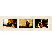 Cowboy Theme Photographic Print