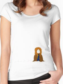 earth girl Women's Fitted Scoop T-Shirt