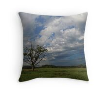 Oak in the spring Throw Pillow