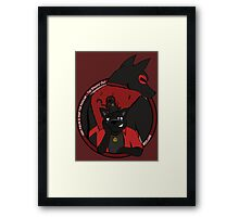 Hiro and Wisp - The Dynamic Duo Framed Print