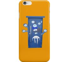 A door with eyes- wall art iPhone Case/Skin