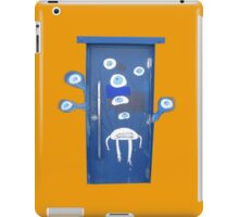 A door with eyes- wall art iPad Case/Skin