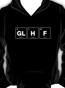 GLHF Periodic Table - White Type T-Shirt