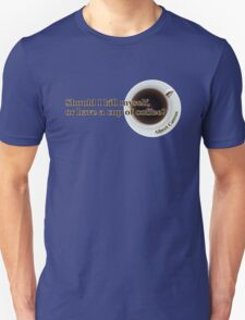Camus - Suicide or Coffee? T-Shirt
