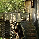 Mill Wheel by Gary L   Suddath