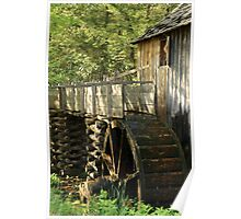 Mill Wheel Poster
