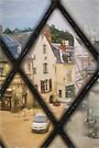 Langeais from Chateau Window by Elaine Teague