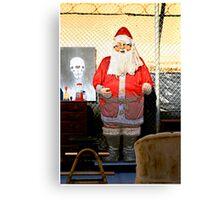 Junkyard Santa Canvas Print