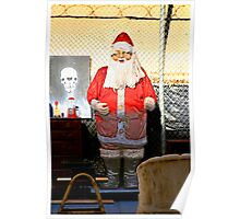 Junkyard Santa Poster
