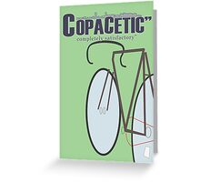 "Copacetic"" ~ completely satisfactory No.1 Greeting Card"