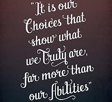 Harry Potter Quote by Julia Alberts