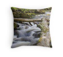 River Hebden, Hardcastle Crags Throw Pillow