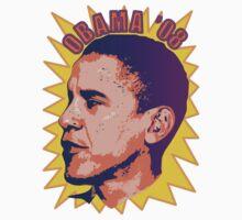 Obama '08 by Laurieann Dygowski