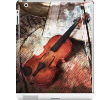 Dust and scratches iPad Case/Skin