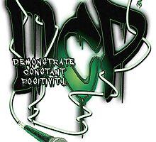 """Demonstrate Constant Positivity"" by DCP by SprayArtByDCP"