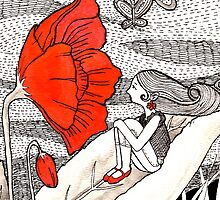 Poppy Love by Cynthia Arre