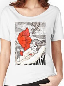 Poppy Love Women's Relaxed Fit T-Shirt