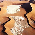 Aerial of dead vlei by Michelle Dry