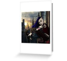 Coruscant Sunrise Greeting Card