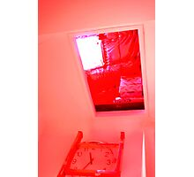 Open red #30 Photographic Print