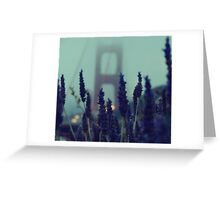 Purple Haze Daze Greeting Card