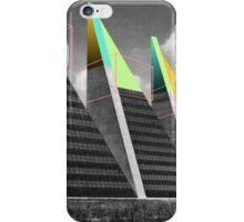 THREE BLOCKS. iPhone Case/Skin