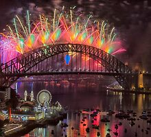 What a Blast - Sydney New Years Day 2015 # 2 by Philip Johnson