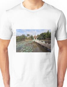 Local temple, Hsipaw, Shan State, Myanmar Unisex T-Shirt