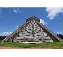 Great Pyramid of Chichen Itza Photographic Print