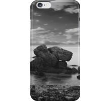 black coast iPhone Case/Skin