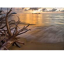 Peaceful Waves Photographic Print