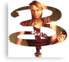 B - Buffy comic - Buffy Canvas Print
