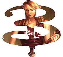 B - Buffy comic - Buffy Photographic Print