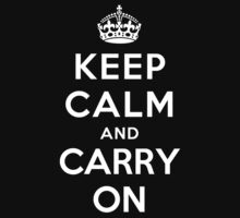 Keep Calm and Carry on Kids Clothes