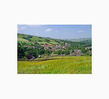 Hayfield, Derbyshire from Snake Path Unisex T-Shirt