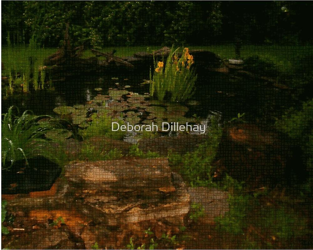 Pond Art by Deborah Dillehay