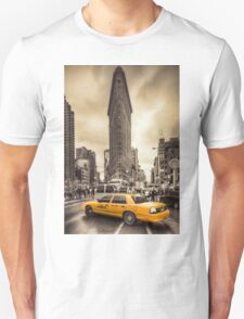 Classic New york city view Unisex T-Shirt