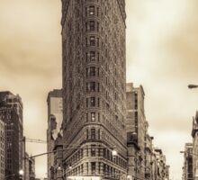 Classic New york city view Sticker