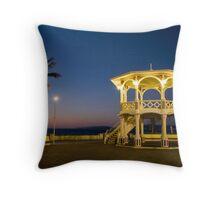 Muelle Turistico Gazebo Dusk - La Paz Throw Pillow