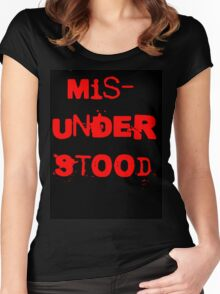 Misunderstood Women's Fitted Scoop T-Shirt