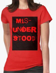 Misunderstood Womens Fitted T-Shirt