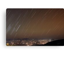 It's Raining Stars Canvas Print
