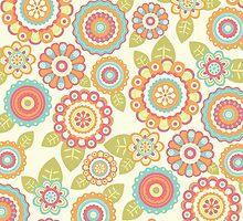 Funky Flowers by Cynthia Arre