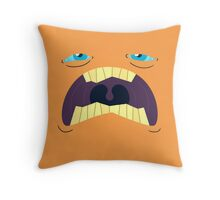 Monster Mugs - Sleepy Throw Pillow