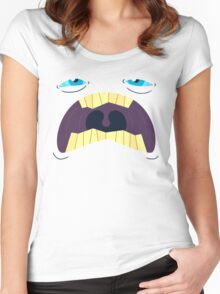 Monster Mugs - Sleepy Women's Fitted Scoop T-Shirt