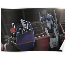 The Great Optimus Prime Poster