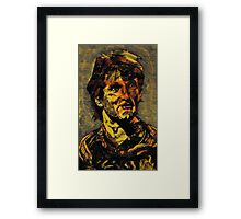 Robin  williams ( July 21 1951 - August 11  2014) Framed Print