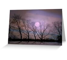 Bare souls under moonlight Greeting Card